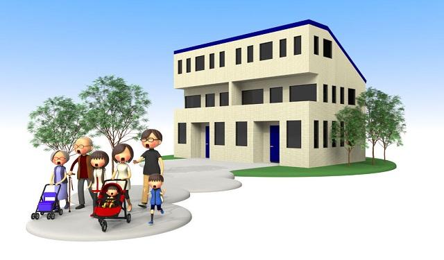【パターン別】二世帯住宅の小規模宅地等の特例解説