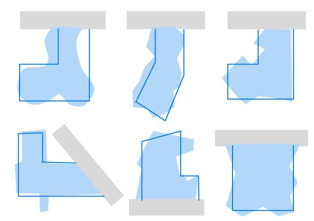 近似整形地を使った不整形地の相続税評価方法