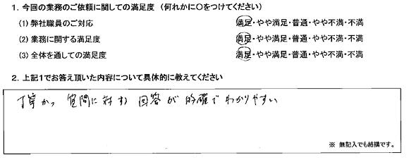 栃木 60代・男性(No.316)