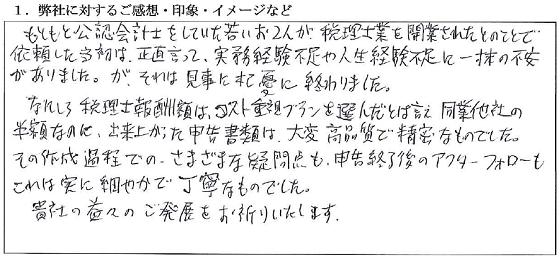 東京 50代・男性(No.002)