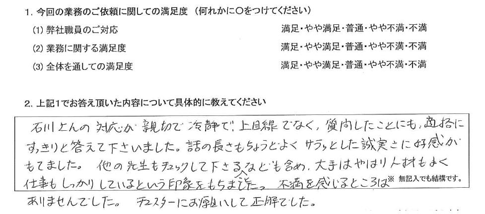 埼玉 50代・女性(No.400)