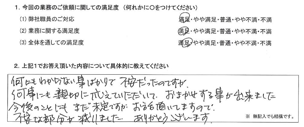 埼玉 50代・女性(No.504)