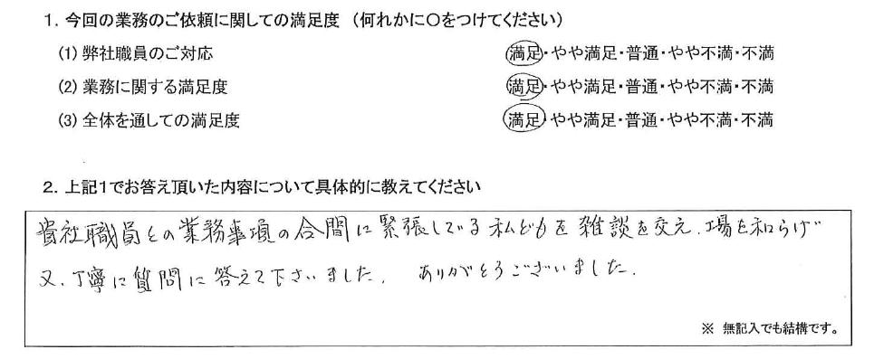 名古屋 60代・男性(No.453)