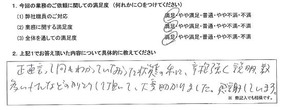 東京 50代・女性(No.309)