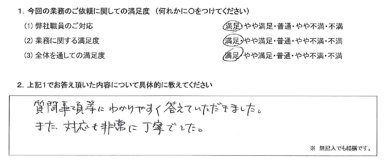 千葉 40代・男性(No.508)
