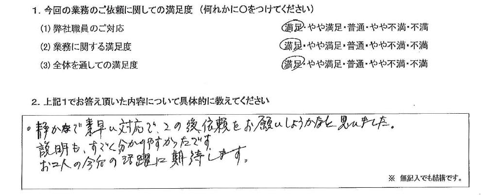 神奈川 70代・男性(No.543)