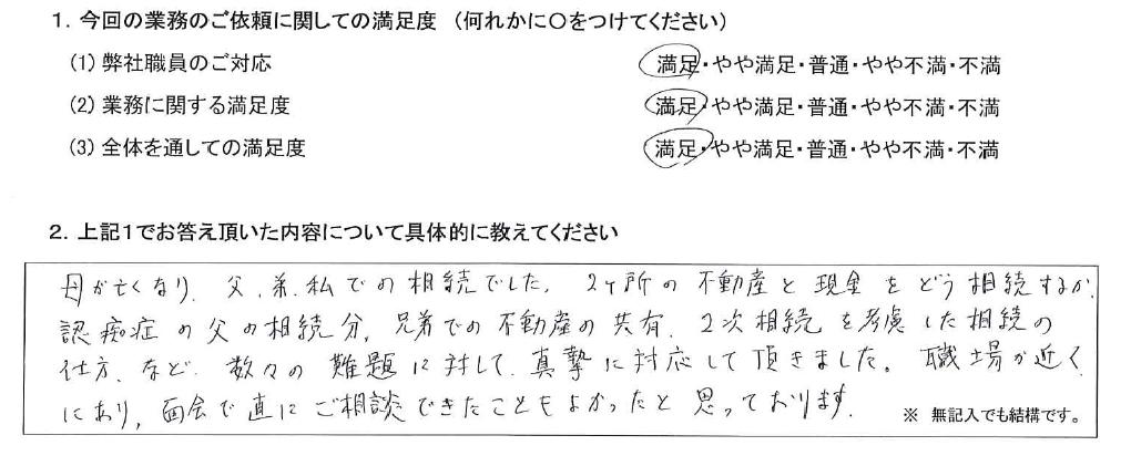 神奈川 50代・男性(No.549)