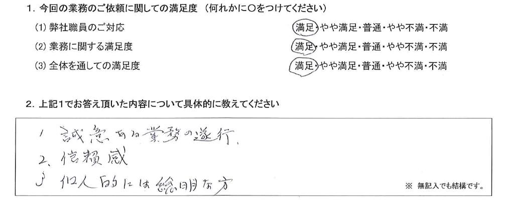 茨城 70代・男性(No.565)