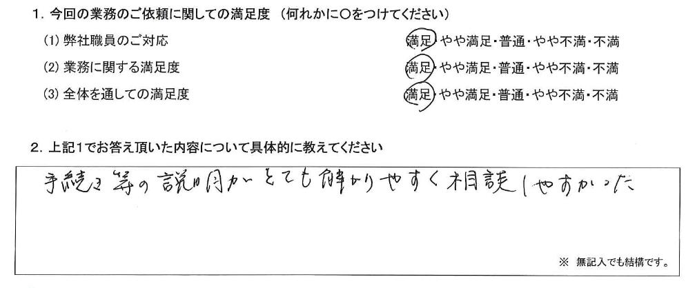 東京 60代・女性(No.490)