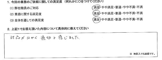 千葉 60代・男性(No.346)