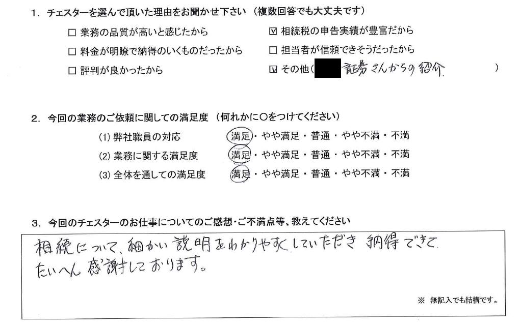 千葉 60代・男性(No.776)