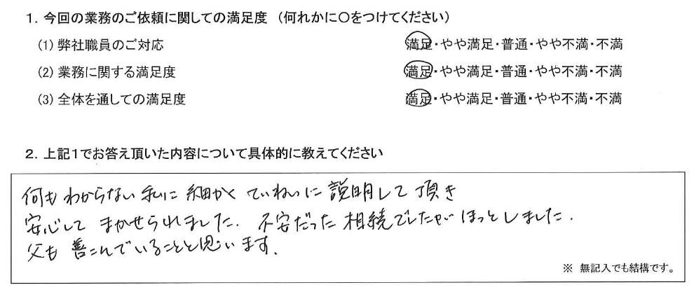 東京 50代・女性(No.412)