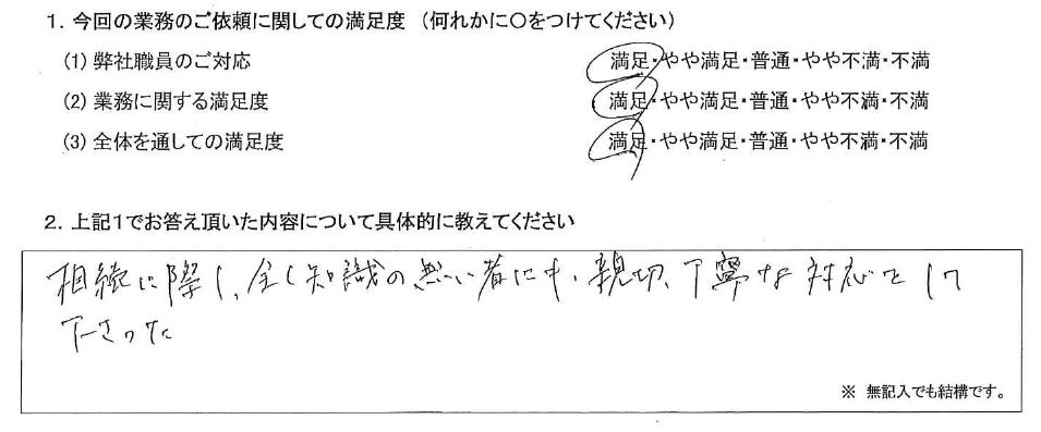 神奈川 50代・女性(No.458)