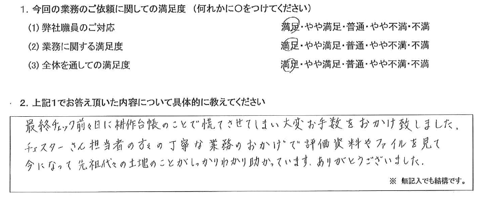 長野 50代・女性(No.401)