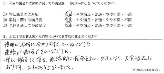 東京 50代・女性(No.168)