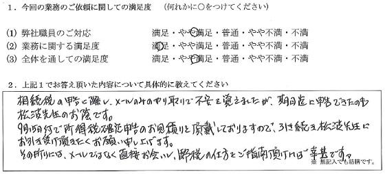 東京 50代・男性(No.187)