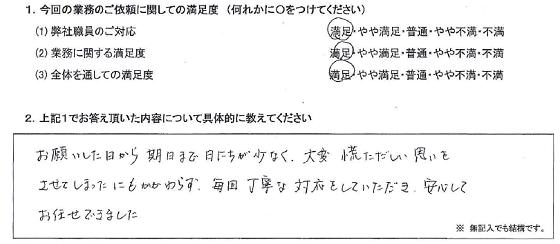 神奈川 50代・女性(No.234)