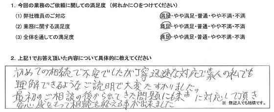 東京 50代・男性(No.232)
