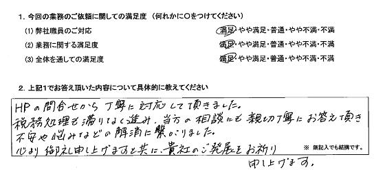 神奈川 40代・女性(No.229)