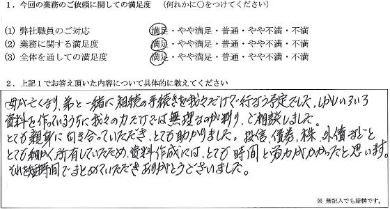 千葉 60代・男性(No.075)