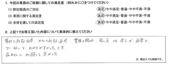 千葉 50代・男性(No.352)