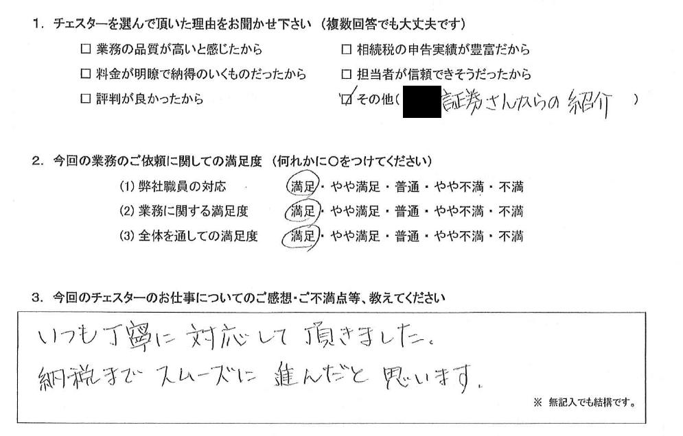 愛知 50代・女性(No.873)