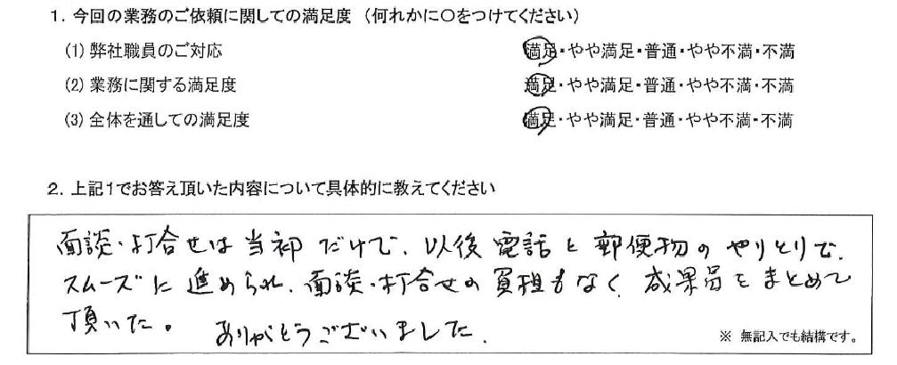 神奈川 60代・男性(No.542)