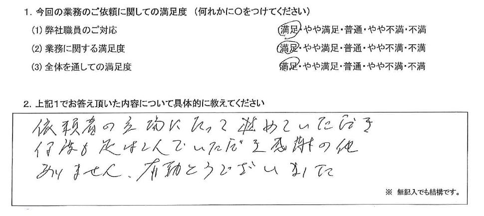 大阪 70代・女性(No.419)