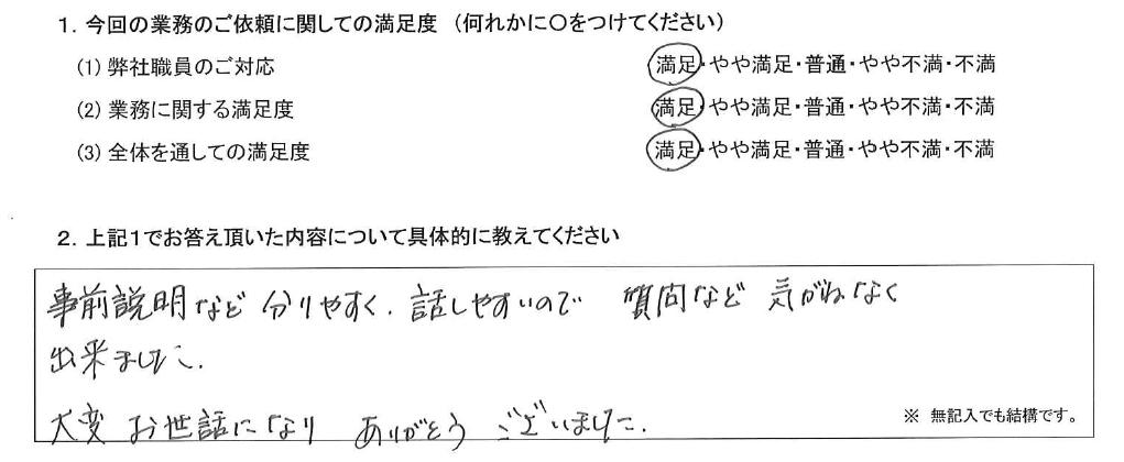 東京 50代・女性(No.413)