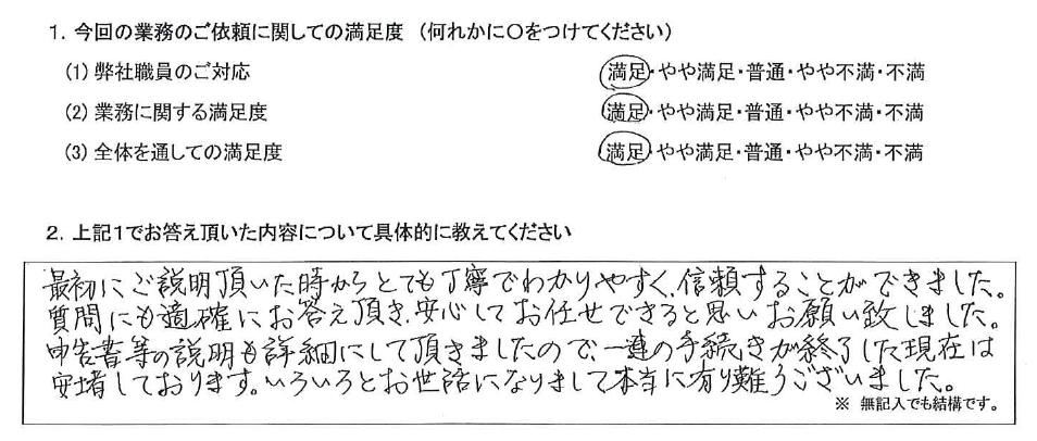 東京 50代・女性(No.477)