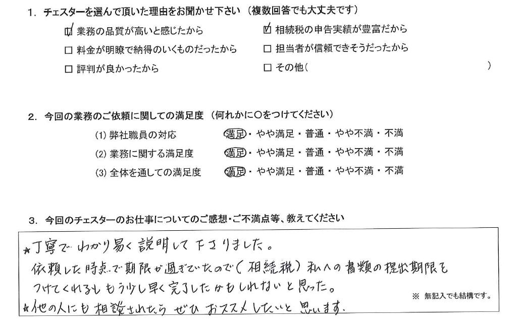 愛知 50代・女性(No.1040)