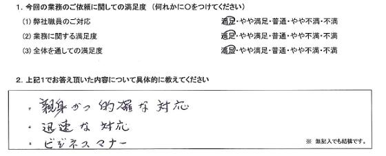 東京 60代・男性(No.250)
