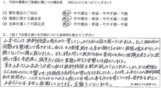 兵庫 50代・女性(No.091)