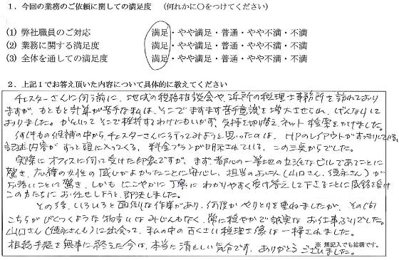 東京 60代・女性(No.067)