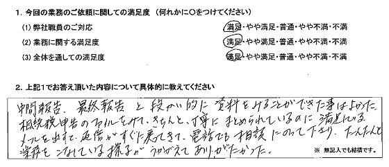福岡 60代・女性(No.196)