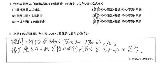 東京 50代・男性(No.247)