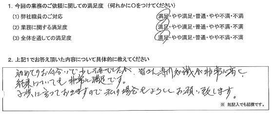 名古屋 60代・男性(No.374)