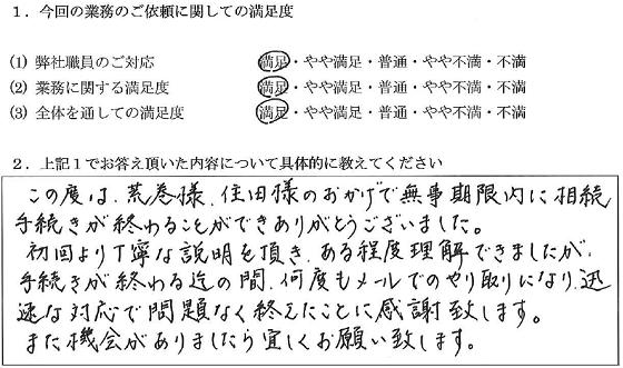 東京 50代・男性(No.051)