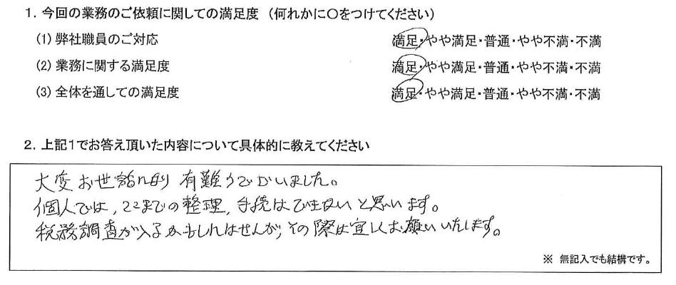 東京 50代・男性(No.404)