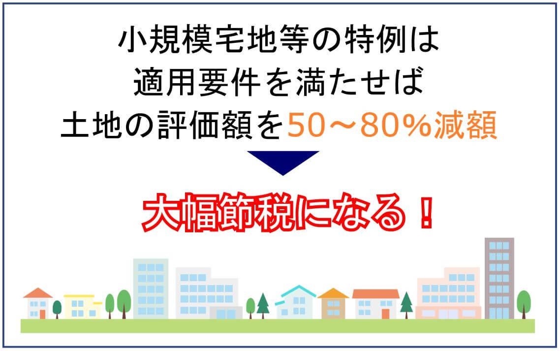 小規模宅地等の特例とは?適用要件・計算・申告などわかりやすく解説