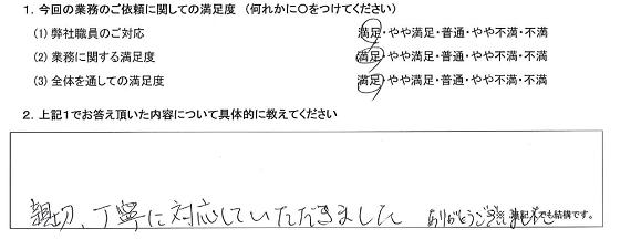 埼玉 70代・女性(No.361)