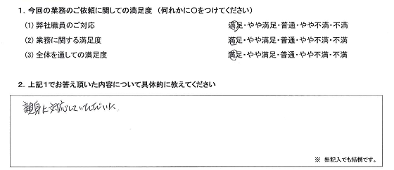 神奈川 60代・女性(No.294)