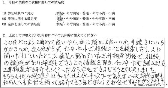 東京 50代・男性(No.060)
