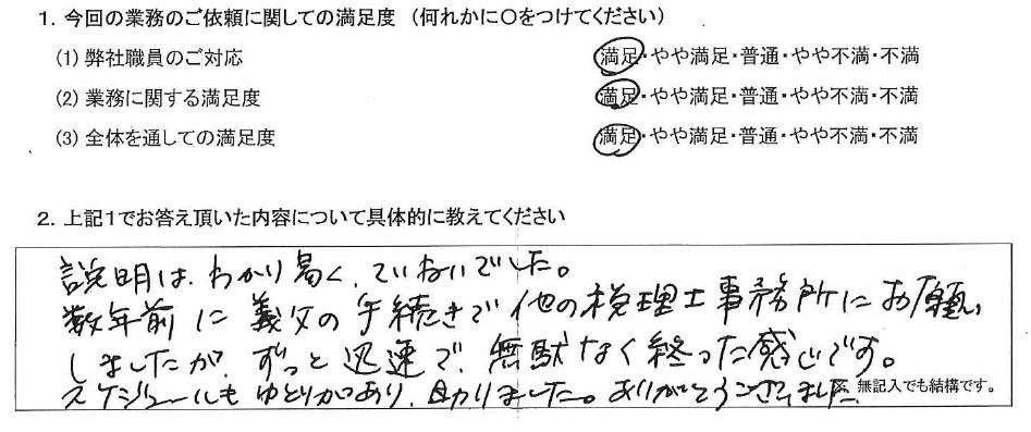 神奈川 50代・女性(No.421)