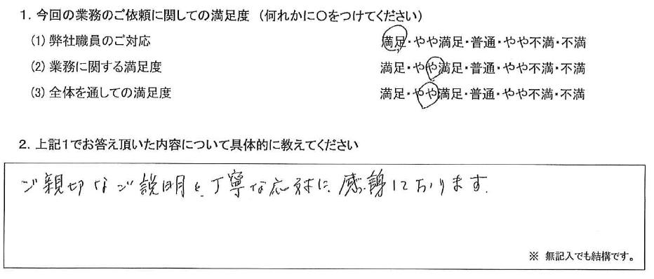 東京 70代・女性(No.472)