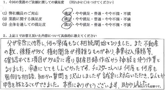 大阪 40代・男性(No.088)