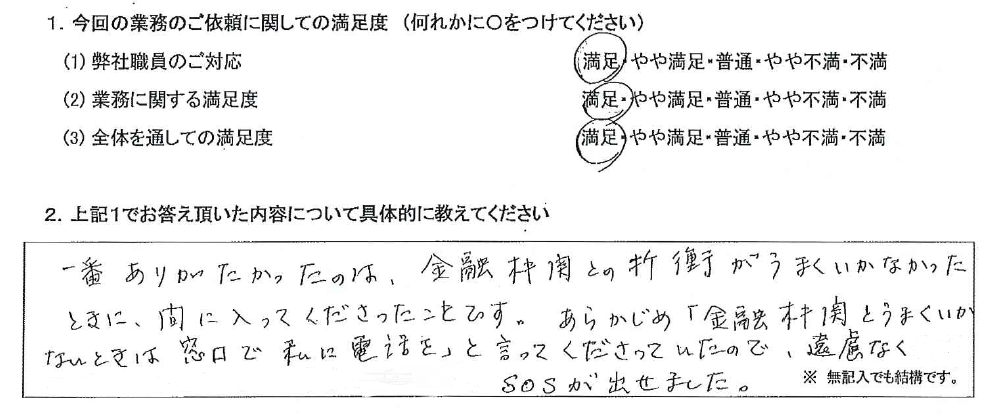 神奈川 50代・女性(No.597)