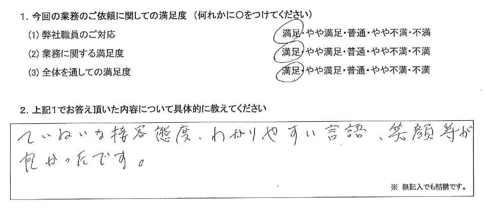 埼玉 60代・男性(No.432)