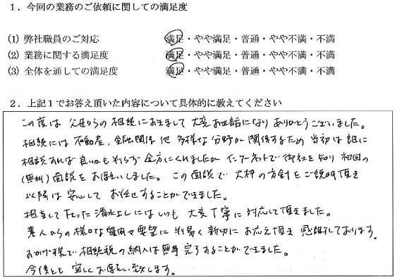 東京 50代・女性(No.028)