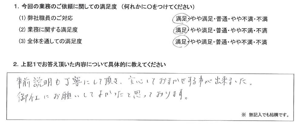 東京 40代・男性(No.566)